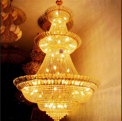 Classic Light Fixtures Vanity Large Hotel Gold Dia900 H1200mm Classic