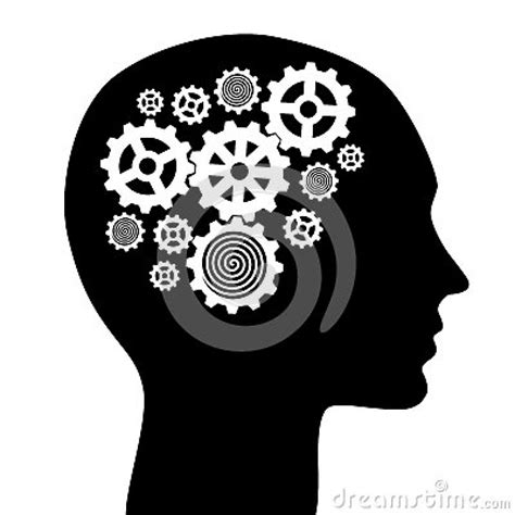 black white mind and ideas royaltyfree vector icon set stock vector 478271243 istock brain clipart 726 free clipart images clipartwork