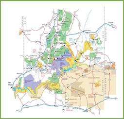 utah national parks map