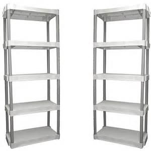 plastic storage shelves walmart walmart