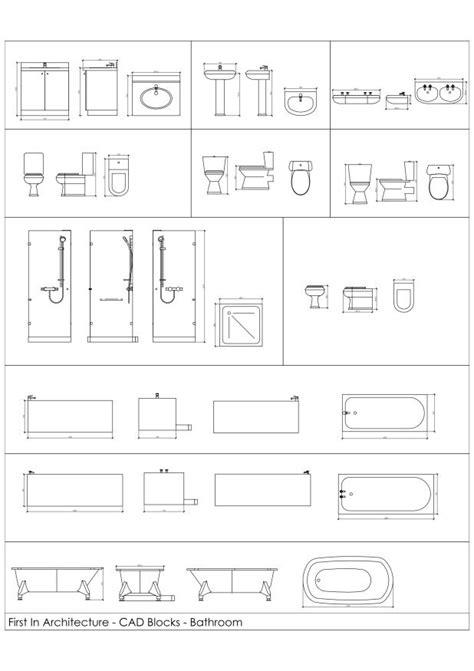 bathroom cad blocks fia bathroom cad blocks 01 pomoce projektowe pinterest bathroom