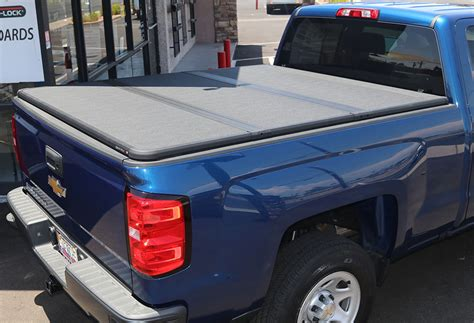 solid fold truck bed cover chevy gmc silverado sierra 1500 6 1 2 ft 2014 18 truck