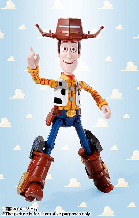 Robot Story 5 Toys Story Sheriff Woody story s woody and pals join to form mecha