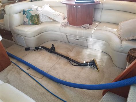 boat upholstery cleaning interior boat cleaning squeaky clean dry