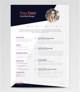 Free Resume Template Design by 50 Beautiful Free Resume Cv Templates In Ai Indesign Psd Formats