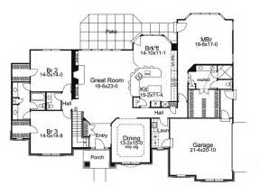 New One Story House Plans One Story Luxury House Plans Rugdots Com