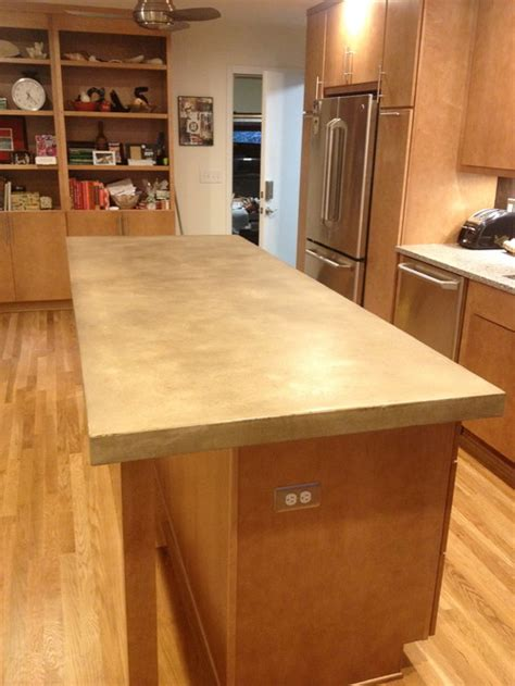 Glass Countertops Cost Per Square Foot by What Is The Cost Per Square Foot For A Concrete Countertop