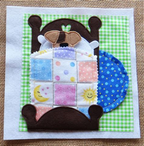 patterns for quiet book pages adorable quiet book pattern featuring a cute little dog