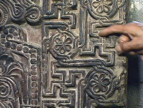 file armenian khachkar with swastikas sanahin armenia 1