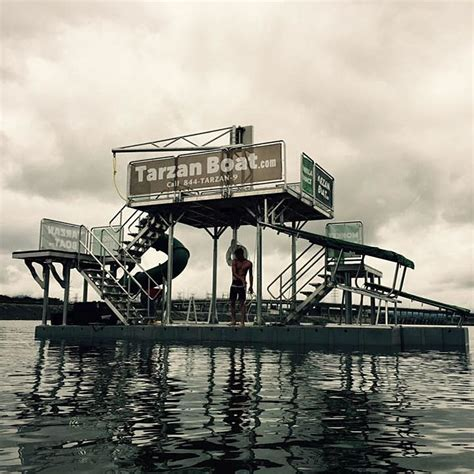 tarzan boat facebook alabama lake home to world s first floating water park