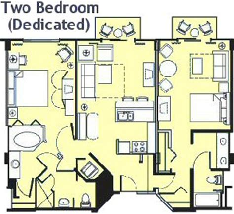 animal kingdom 2 bedroom villa floor plan disney vacation club beach club villas parkinfo2go