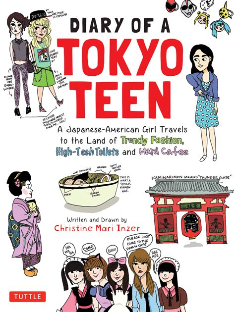 diary of a teenage teenage author and illustrator draws her own conclusions about life in japan arts travel