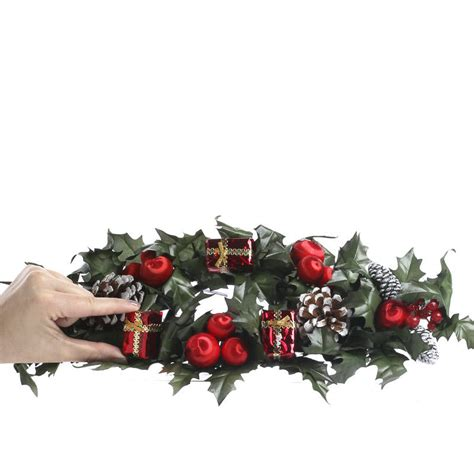 christmas candle ring what s new home decor