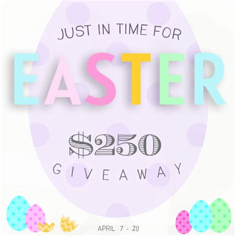 Easter Giveaway - 250 visa gift card giveaway ends april 20 2014 cha ching queen
