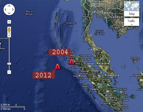 earthquake watch indonesia tsunami warning in 28 countries after 8 6 magnitude quake