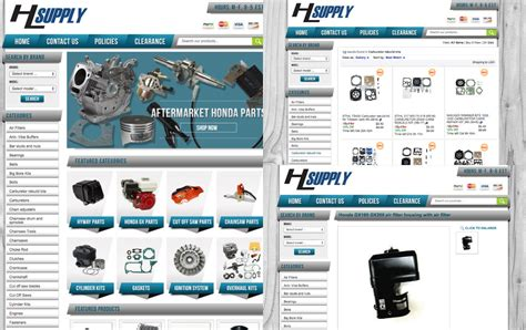 how to design ebay store templates hl supply helped their business soar with a new ebay design