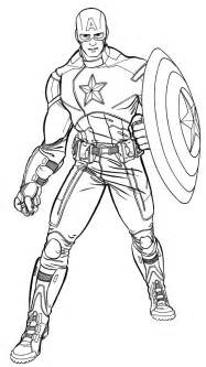 incredible captain america coloring pages coloring pages