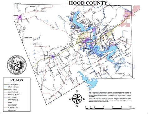 Hood County, TX   Official Website   County Road Maps