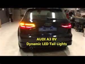 audi a3 8v led dynamic lights dynamischer blinker