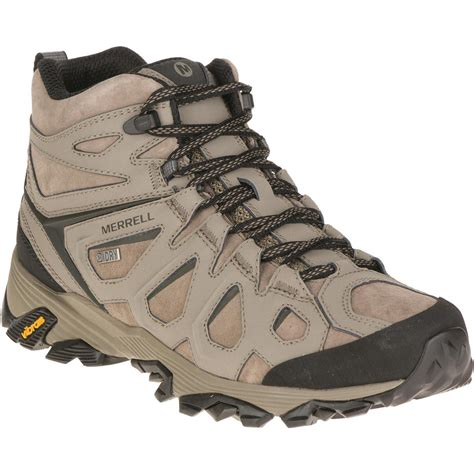 merrell mens boots merrell s moab fst leather mid waterproof hiking boots