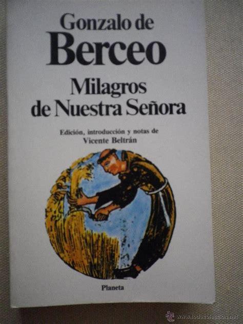 libro milagros de nuestra senora libro milagros de nuestra se 241 ora por gonzalo de comprar en todocoleccion 48469349