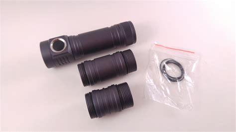 Emisar D4 Cree Xp L Hi 4300lm Nichia 219c 3300lm Senter Flashlight review emisar d4 single 18650 led flashlight