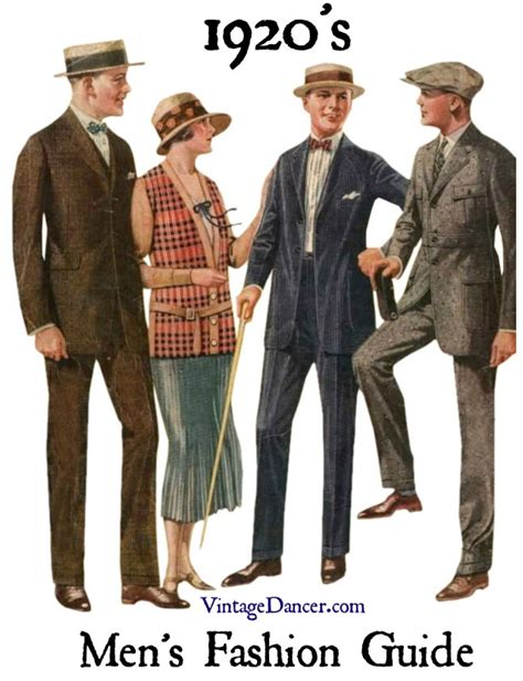 what did wear in the 1920s
