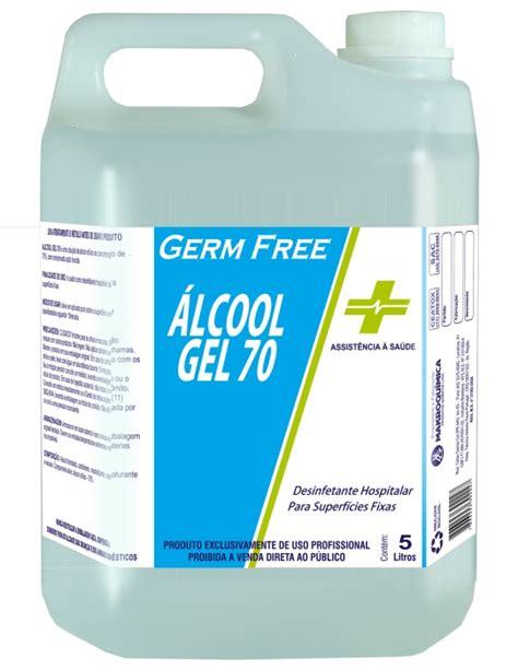 germ de gel 8494508512 produto 193 lcool gel 70 5l para superf 237 cies higiene e limpeza 193 lcool germ free loja da