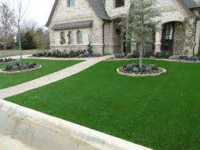 Astro Turf For Backyard Southlake Front Yard Contemporary Landscape Dallas