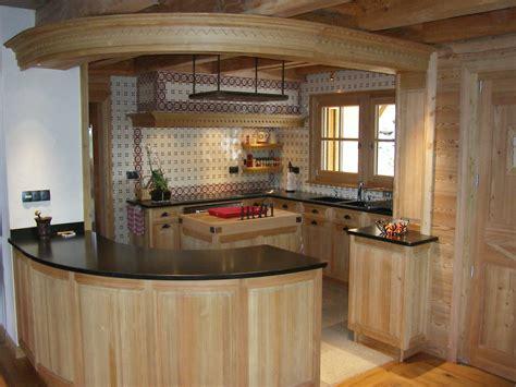 Cuisine Dans Chalet by Cuisine Et Arri 232 Re Cuisine Chalet Ateliers Courtois