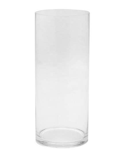 12 Cylinder Vases by Cylinder Vases 4 Quot X 12 Quot Clear Glass Cylinder Vase