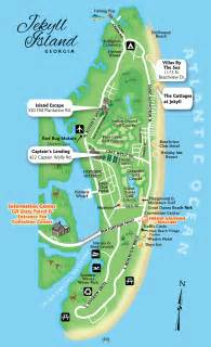 map of jekyll island cottage map kaufman realtors