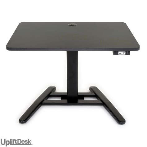 uplift height adjustable sit stand desk shop uplift 975 height adjustable standing pedestal desks