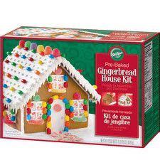 gingerbread house kit michaels best pre baked and pre assembled gingerbread house kit recipe on pinterest