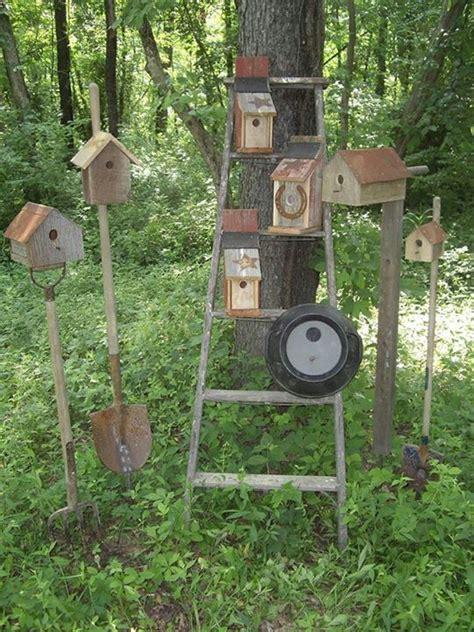 Primitive Garden Decor Primitive Outdoor Decor Primitive Birdhouse Garden Decor Gardening Pinterest Outdoor
