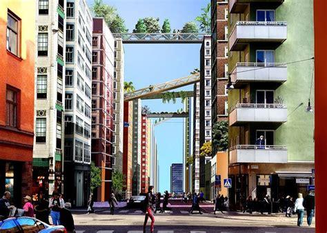 stockholm appartments pioneering klarastaden urban design for stockholm includes