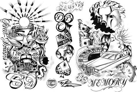 lowrider arte tattoos designs lowrider tattoos sketches drawings paintings page 7