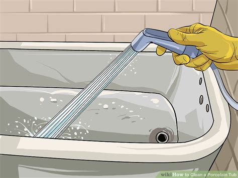 how to clean an old stained bathtub how to clean stained porcelain bathtub tubethevote