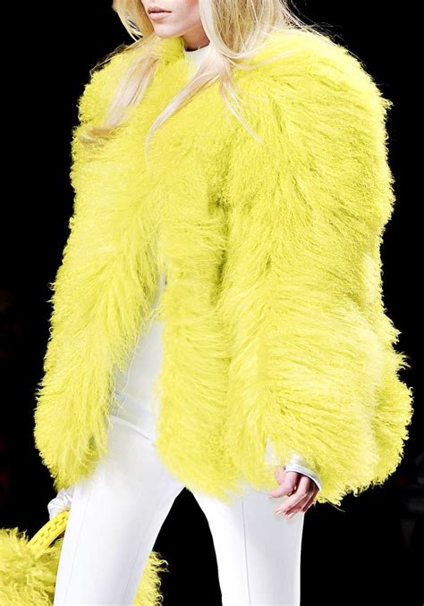 Winter Yellow 17 best images about yellow fur coats on coats