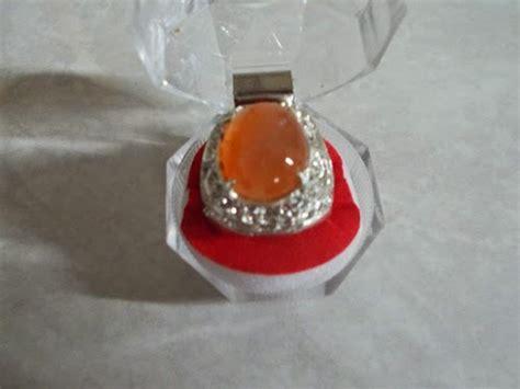 Aneka Cincin 16 Merah batu permata martapura permata asli martapura batu