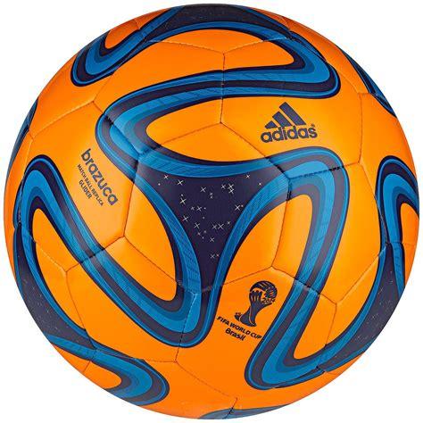 Bola Sepak Adidas Brazuca Original World Cup bola adidas brazuca wc 14 glider treino e corrida laranja e azul treino e corrida