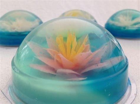 flower design jello howtocookthat cakes dessert chocolate 3d jelly