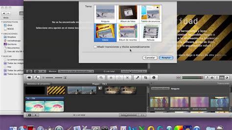 tutorial imovie ios 8 tutorial imovie youtube