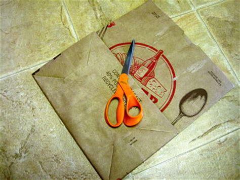 How To Make A Paper Vest - friday paper bag vest tutorial