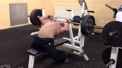 elliott hulse bench press max dave hoff bench press 476kg 100 elliott hulse bench press stability ball bench
