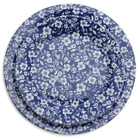 blue floral plate sur la china and tableware