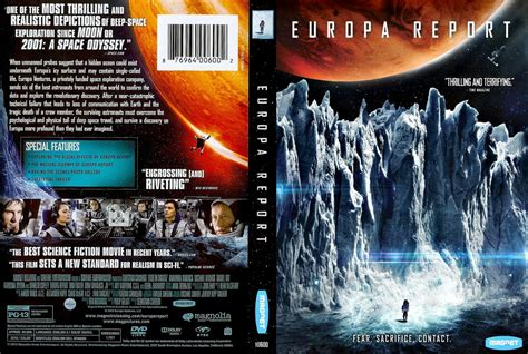 A Cover by Europa Report Dvd Scanned Covers Europa Report
