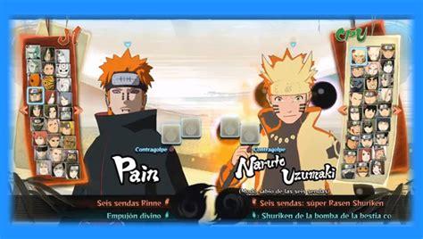 mod game naruto mugen naruto shippuden ultimate ninja storm 4 mugen v2 0 mugen