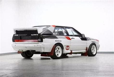 Audi Konzern by 1982 Audi Quattro B Car Sold For 368k At Bonhams