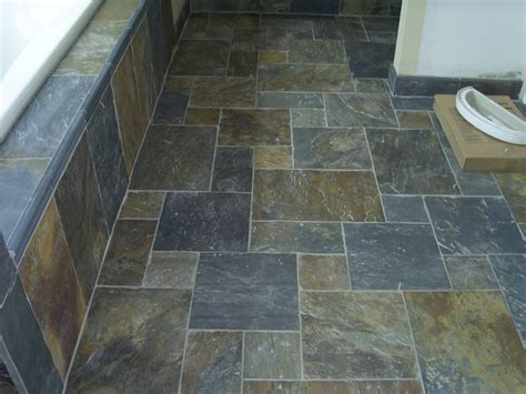 slate tile bathroom designs slate tile bathrooms fabulous slate bathroom